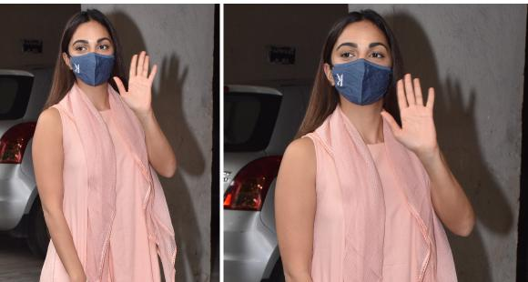 Kiara Advani paired her salmon pink ethnic outfit with a Gucci Diana tote worth Rs 3 Lakh: Yay or Nay?