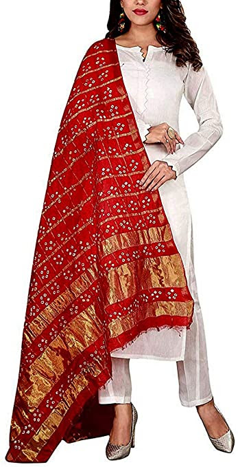 Amazon Great Indian Festival Sale: Get Navratri ready with these heavily embellished dupattas