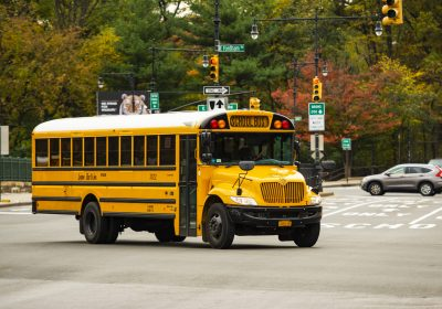 School Bus Drivers in Maryland Protest Low Wages and Lack of Benefits