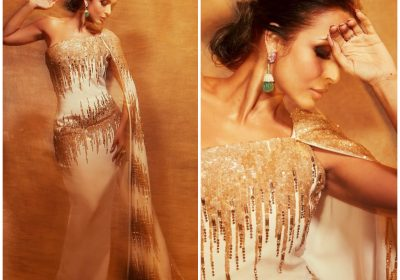 Fashion Faceoff: Malaika Arora or Kate Beckinsale; Who wore the Georges Chakra cape sleeve gown better?