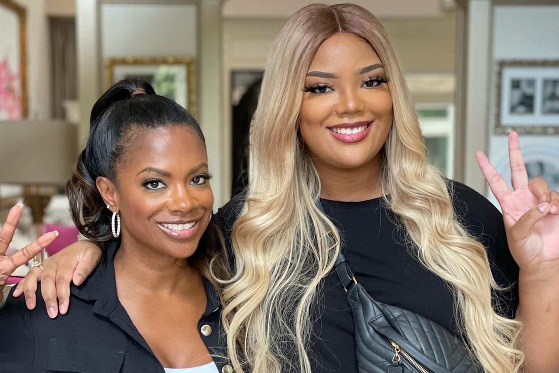 Kandi Burruss Shares An Exciting Video Featuring Riley Burruss And Fans Are Amazed By Her Beauty