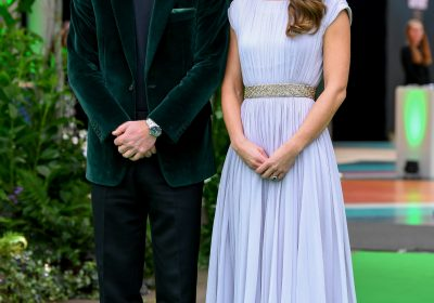 Kate Middleton REPEATS her lavender Alexander McQueen gown for Earthshot Prize Awards with Prince William