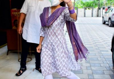 Sara Ali Khan's purple desi look gelled with the final colour code of Navratri; Yay or Nay?
