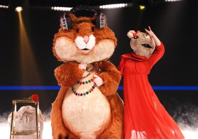 The Masked Singer's Hamster dishes on why pals Adam Sandler and Chris Rock would never do the show